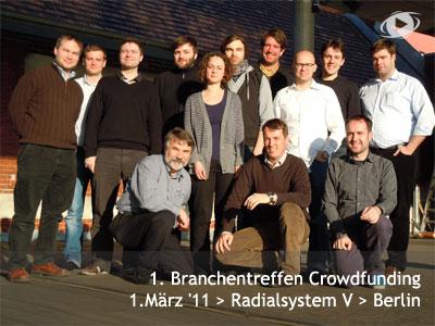 1. Branchentreffen Crowdfunding2011
