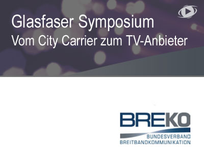 Frankfurt, 14 September: Glasfaser Symposium