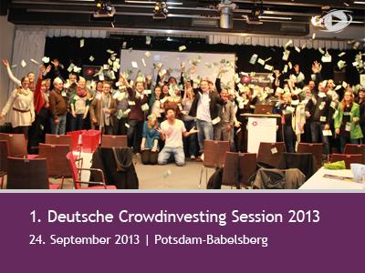 Erste Deutsche Crowd Investing Session 2013 bringt 5.000€ für FilmprojektHomeSick