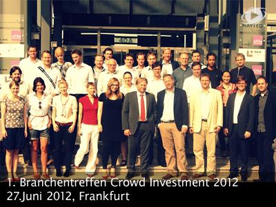 1. Branchentreffen Crowdinvestment2012