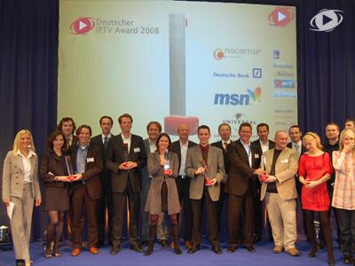 München 2008 Preisverleihung zum Deustchen IPTV Award2008