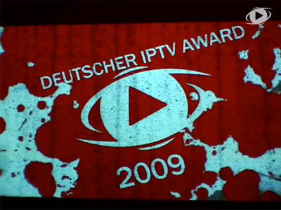 Verleihung des dritten DIPTV Awards in Berlin am 26. November 2009