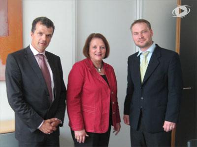 DIPTV trifft sich mit Sabine Leutheusser-Schnarrenberger