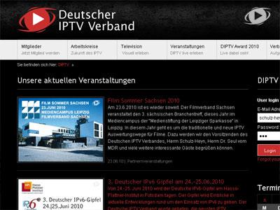 Neue DIPTV Verbands-Webseite istonline